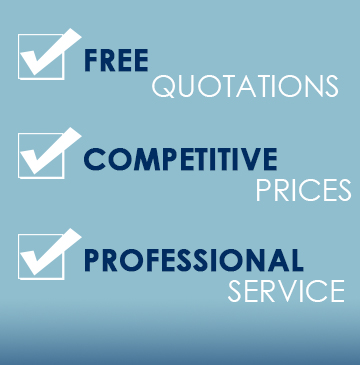 With free quotations, competitive prices and professional service